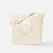 Skull lacrosse2 Tote Bag