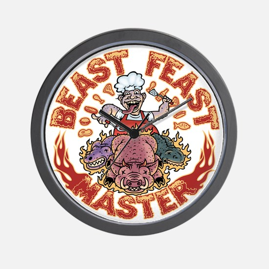 beast-feast2-T Wall Clock