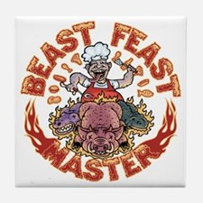 beast-feast2-T Tile Coaster