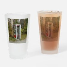 Phone booth Drinking Glass