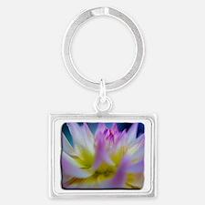 dalia Flower Landscape Keychain
