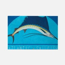 Atlantic Sailfish Rectangle Magnet