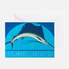Atlantic Sailfish Greeting Card