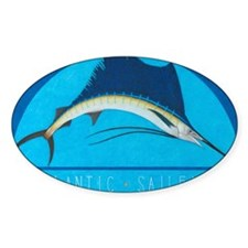 Atlantic Sailfish Decal