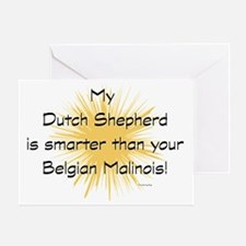 My Dutchie is smarter than your mali Greeting Card