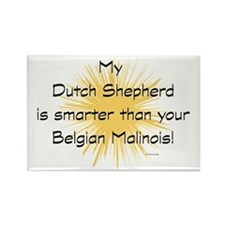 My Dutchie is smarter than your m Rectangle Magnet