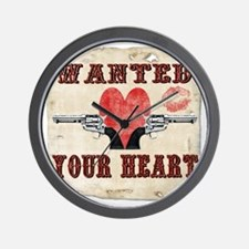 wanted_your_heart Wall Clock