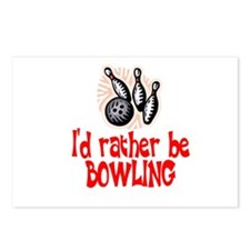 BowlingChick Rather Postcards (Package of 8)
