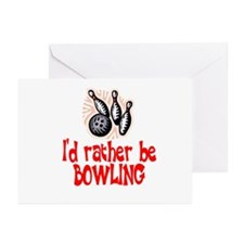 BowlingChick Rather Greeting Cards (Pk of 10)