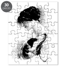 LadyZoiLoveCharcoal2 Puzzle