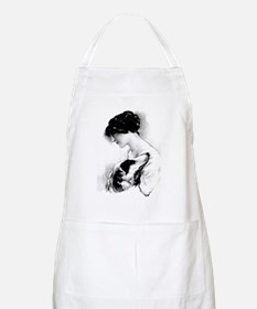 LadyZoiLoveCharcoal2 Apron