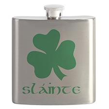 slainte green Flask