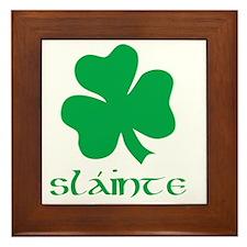 slainte green Framed Tile