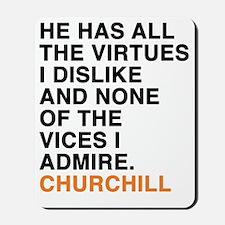CHURCHILL_6 Mousepad