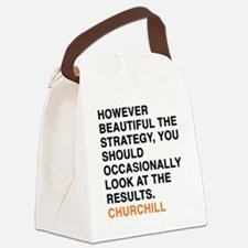 CHURCHILL_8 Canvas Lunch Bag
