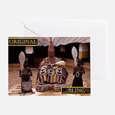 ob kING3 Greeting Card