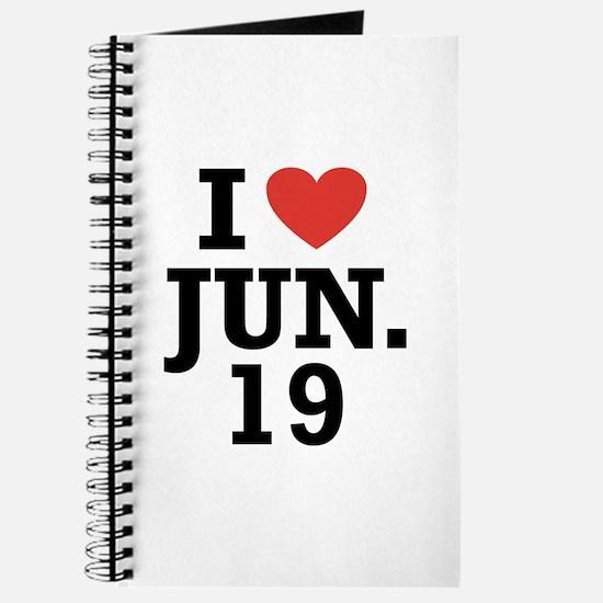 I Heart June 19 Journal