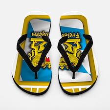 Bavarian Gold Flip Flops