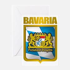 Bavarian Gold Greeting Card