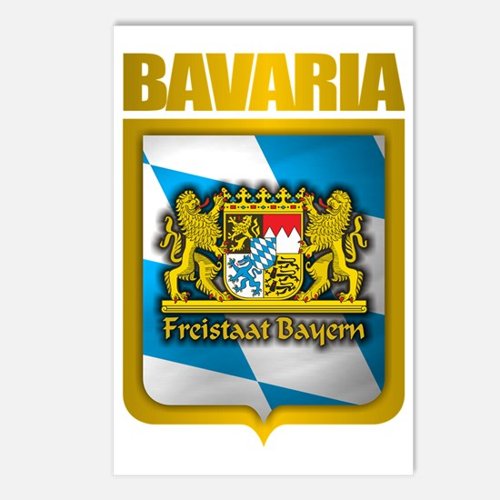 Bavarian Gold Postcards (Package of 8)