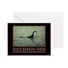 successfulnessposter Greeting Card