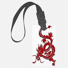 Red-Dragon Luggage Tag