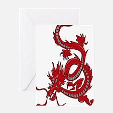 Red-Dragon Greeting Card