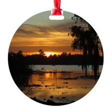 Lowcountry Sunset Ornament