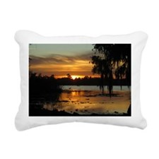 Lowcountry Sunset Rectangular Canvas Pillow