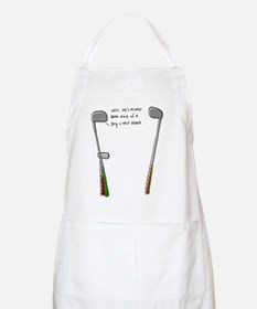 Shy Little Putter Apron