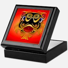 CalenderBlack n Gold Chinese Dragon F Keepsake Box