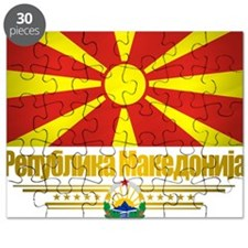 Macedonia (Flag 10) Puzzle
