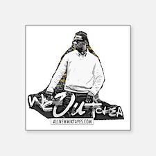 "Young Dro - We Outchea.gif Square Sticker 3"" x 3"""