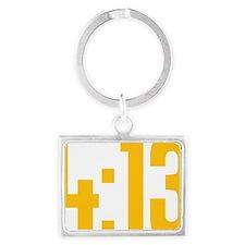413 running Landscape Keychain