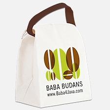 BB-CafePress-BlackText Canvas Lunch Bag