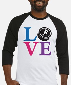 multi2, Hockey LOVE Baseball Jersey