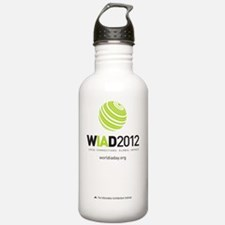 WIAD_t-shirt_Front Water Bottle