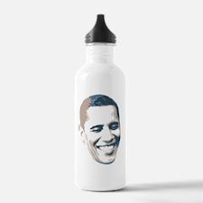 2012ObamaFaceButton Water Bottle
