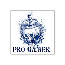 "pro gamer Square Sticker 3"" x 3"""