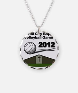 Church Volleyball Necklace