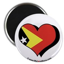 "I Love East Timor 2.25"" Magnet (100 pack)"
