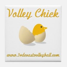 Volley Chick Tile Coaster