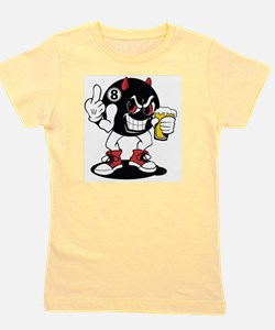 devil_8_ball Girl's Tee