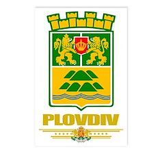Plovdiv COA (flag 10) Postcards (Package of 8)