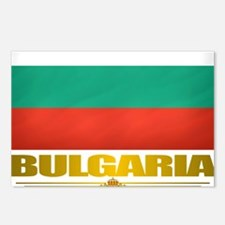 Bulgaria (Flag 10) Postcards (Package of 8)