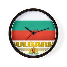 Bulgaria (Flag 10) Wall Clock