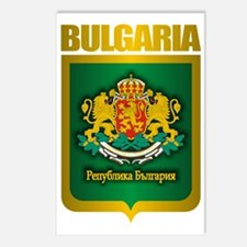 Bulgaria (Gold Label) Postcards (Package of 8)