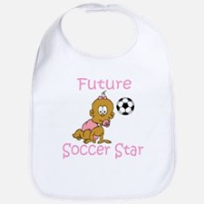 Future Soccer Star Hannah Bib
