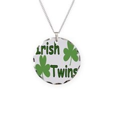 IrishTwinscompact Necklace Circle Charm