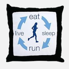 eatFb Throw Pillow